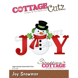 Cottage Cutz - Die - Joy Snowman