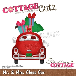 Cottage Cutz - Die - Mr & Mrs Claus Car
