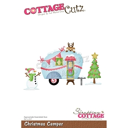 Cottage Cutz - Die - Christmas Camper