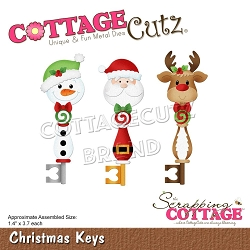 Cottage Cutz - Die - Christmas Keys