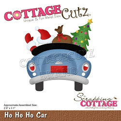 Cottage Cutz - Die - Ho Ho Ho Car