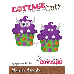 Cottage Cutz - Die - Monster Cupcake