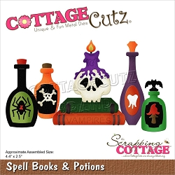 Cottage Cutz - Die - Spell Books & Potions