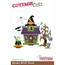 Cottage Cutz - Die - Spooky Witch House