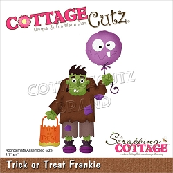 Cottage Cutz - Die - Trick Or Treat Frankie