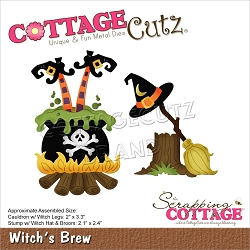 Cottage Cutz - Die - Witch's Brew