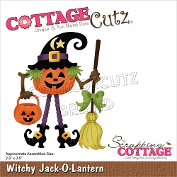 Cottage Cutz - Die - Witchy Jack-O-Lantern