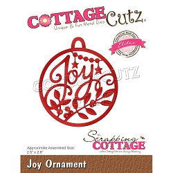 Cottage Cutz - Die - Joy Ornament