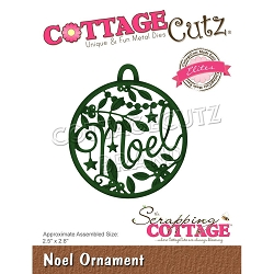 Cottage Cutz - Die - Noel Ornament