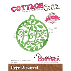Cottage Cutz - Die - Hope Ornament