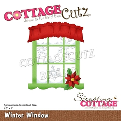 Cottage Cutz - Die - Winter Window