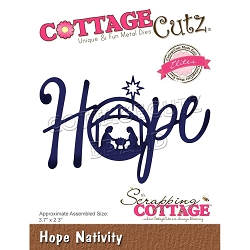 Cottage Cutz - Die - Hope Nativity (Elites)