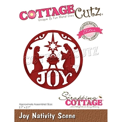 Cottage Cutz - Die - Joy Nativity (Elites)