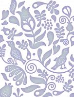 Couture Creations - Embossing Folder (A2) - Fresh & Fun Collecion - Flint
