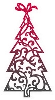 Couture Creation - Cutting Die - Magical Christmas Xmas Tree