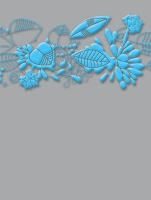 Craft Concepts - A2 Embossing Folder - Thoughtful Collection - Whisper