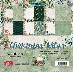 Craft & You - Christmas Vibes 6x6 Paper Pad
