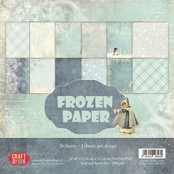 Craft & You - Frozen Paper 6x6 Paper Pad