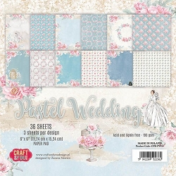 Craft & You - Pastel Wedding 6x6 Paper Pad