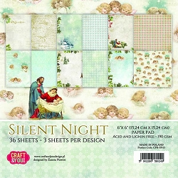 Craft & You - Silent Night 6x6 Paper Pad