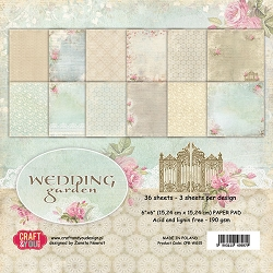 Craft & You - Wedding Garden 6x6 Paper Pad