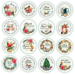 Craft & You - Christmas Vibes 12x12 Die-Cut sheet