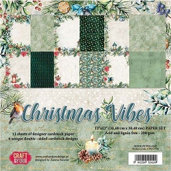 Craft & You - Christmas Vibes 12x12 collection kit