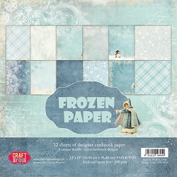 Craft & You - Frozen Paper 12x12 collection kit