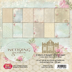 Craft & You - Wedding Garden 12x12 collection kit