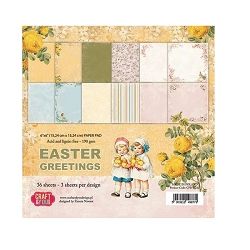 Craft & You - Easter Greetings 6x6 Paper Pad