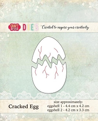 Craft & You - Cracked Egg Die