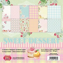 Craft & You - Sweet Dessert 12x12 collection kit