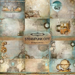 Craft Box - Steampunk City Collection - 6