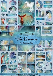 Craft Box - The Dreamer Collection - A4 Designer Pad