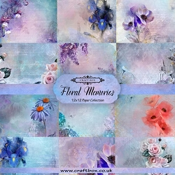 Craft Box - Floral Memories Collection - Paper Kit