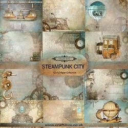 Craft Box - Steampunk City Collection - Paper Kit