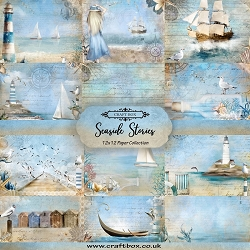 Craft Box - Seaside Stories Collection - Paper Kit