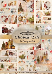 Craft Box - Christmas Tale Collection - A4 Designer Pad