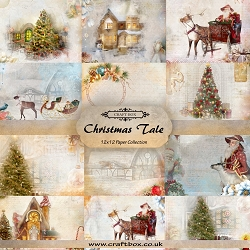 Craft Box - Christmas Tale Collection - Paper Kit