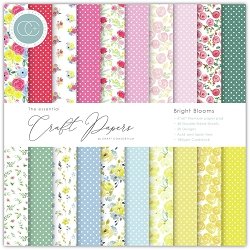Craft Consortium - Bright Blooms 6x6 paper pad