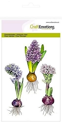 Craft Emotions - clear stamp - Hyacinth