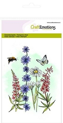 Craft Emotions - clear stamp - Wild Flowers 2