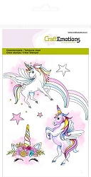 Craft Emotions - clear stamp - Unicorn