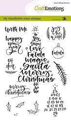 Craft Emotions - clear stamp - Christmas