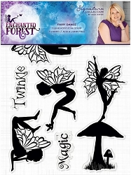 Crafter's Companion - Enchanted Forest Collection by Sara Davies - Fairy Dance Clear Stamps