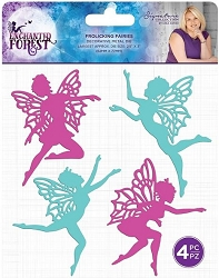 Crafter's Companion - Enchanted Forest Collection by Sara Davies - Frolicking Fairies Die Set