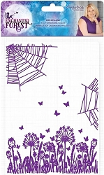 Crafter's Companion - Enchanted Forest Collection by Sara Davies - 5x7 Dreamland Embossing Folder