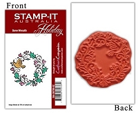 Stamp-It Australia - Holiday Collection - Dove Wreath