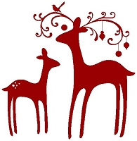 Stamp-It Australia - Holiday Collection - Deer Family