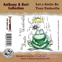 Anthony & Burt Collection - EZMount Stamp Set - Let a Smile Be Your Umbrella